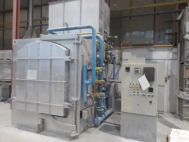 High temperature chamber kiln, TAB*, 1800 L, 1500 °C, used